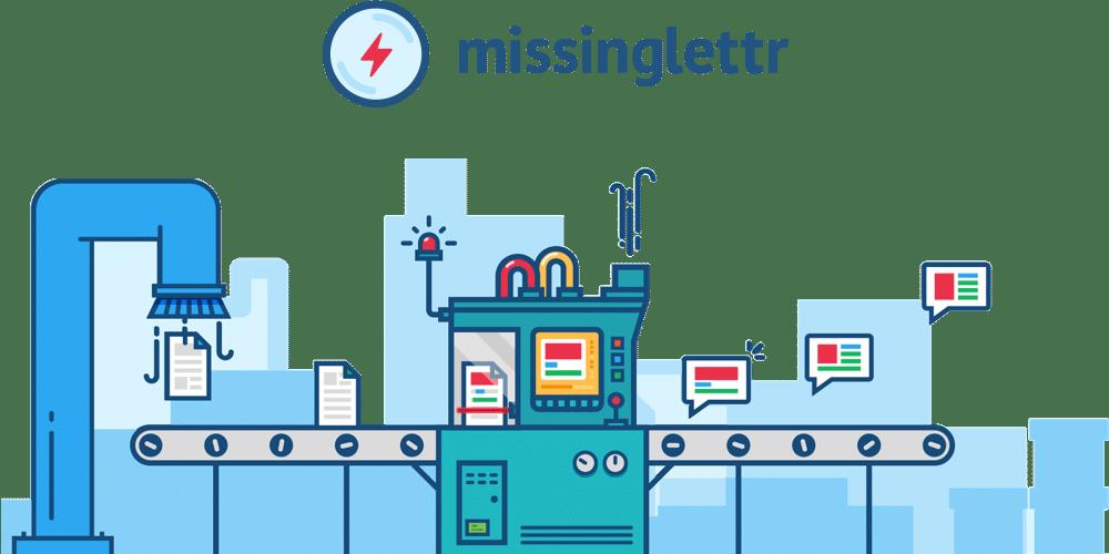 Missinglettr logo